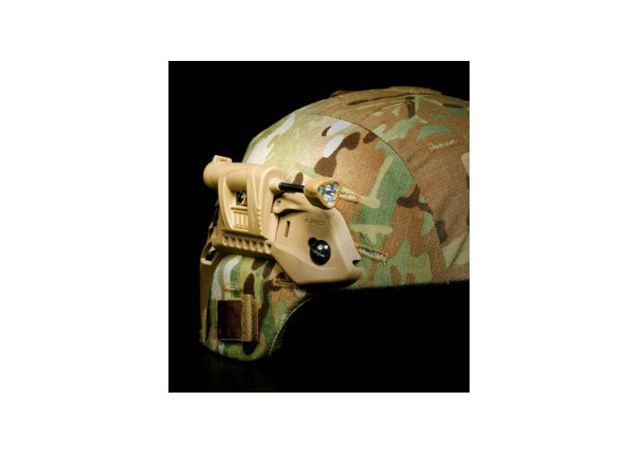MPLS Charge on helmet
